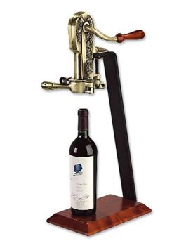 Enlarge Legacy Corkscrew with Birch Stand - Antique Bronze