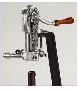 Enlarge Legacy Corkscrew Wine Opener - Antique Pewter