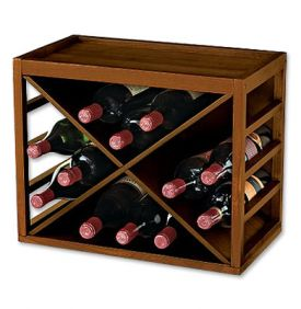 Enlarge 12-Bottle X Cube Stack Wine Rack