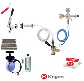 Enlarge Kegco Ultimate Door Mount Kegerator Keg Tap Conversion Kit