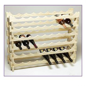 Enlarge 48 Bottle Modular Wine Rack