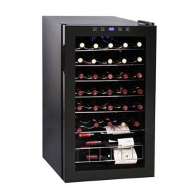Enlarge Vinotemp VT-34 TS 34-BottleTouchscreen Wine Refrigerator Cooler