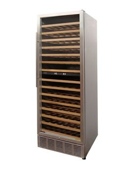 Enlarge Vinotemp VT-188-MSW 160-Bottle Dual Zone Built-in Wine Refrigerator