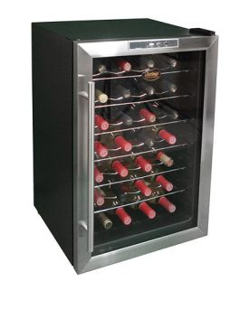 Enlarge Vinotemp VT-28TEDS 28-Bottle Thermoelectric Wine Refrigerator