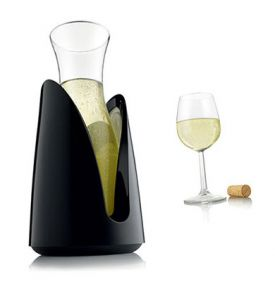Enlarge Vacu Vin Rapid Ice Cooling Carafe - Black