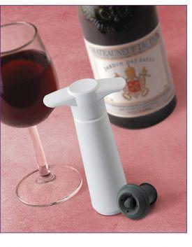 Enlarge Vacu Vin Wine Saver Preservation Giftpack - White Vacuum Pump