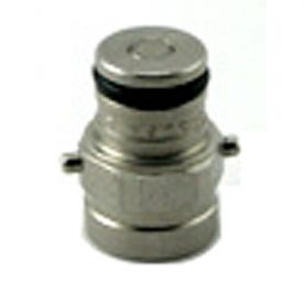 Enlarge John Wood Pin Lock 3-Pin Tank Plug 9/16-18 Liquid