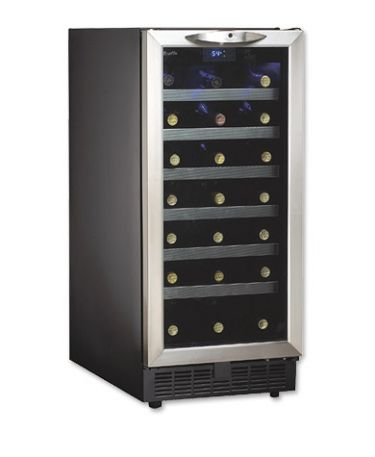 Danby Dwc1534bls 15 Quot Built In Wine Refrigerator Cooler Ebay