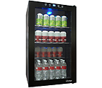 Vinotemp VT-BC34 TS Touch Screen Glass Door Beverage Cooler