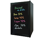 Vinotemp VT-BLKBEV Beverage Cooler with Writing Board Door