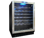 Vinotemp VT-58B 58-Bottle Wine Cooler in Black